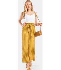 jace printed jumpsuit - yellow
