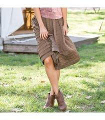 sunset pleat skirt