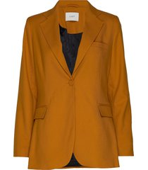 max blazer blazer kavaj orange just female