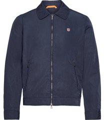 biscay jacket tunn jacka blå morris