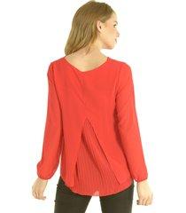 blusa chiara rojo bous