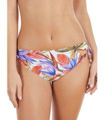 bikini selmark bas de maillot de bain taille haute bird of paradise