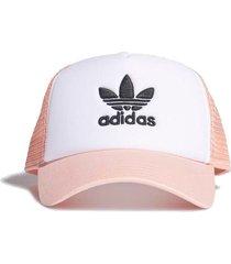 gorra rosa  adidas originals trucker adicolor