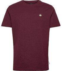 timmi recycled cotton t-shirt t-shirts short-sleeved röd kronstadt