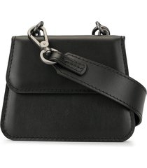 0711 lou small crossbody bag - black