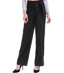 pantalón rayas cinta negro nicopoly