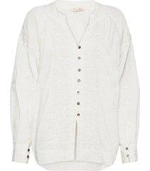 charlotte blouse blouse lange mouwen wit odd molly