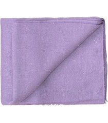 lily cashmere silk and paillette scarf