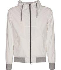 herno zipped hoodie