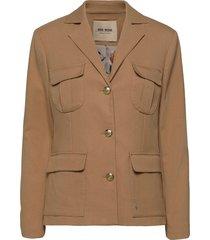 riva twiggy jacket blazers casual blazers beige mos mosh
