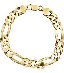 effy men's 14k goldplated sterling silver link chain bracelet