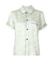 morgan lane camisa de pijama tami - verde