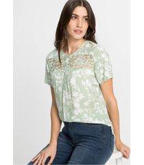blouse met kant lenzing™ ecovero™