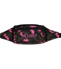 pochete alkary camuflada tradicional rosa