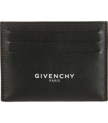 givenchy logo print card holder