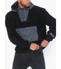 sixth june reflective borg hoodie jackor black