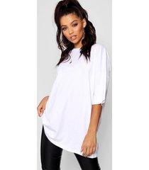 basic washed oversized t-shirt, white