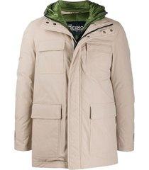 field jacket con cortavientos interior desmontable