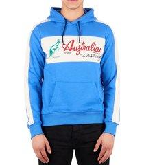 australian hoodie logo blauw