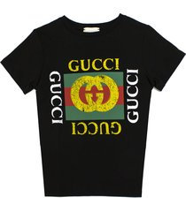 gucci black cotton jersey t-shirt