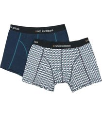 boxer 2 pack in box multi colors