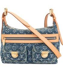 louis vuitton 2005 pre-owned baggy pm shoulder bag - blue