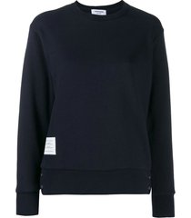 classic crewneck loopback sweatshirt, navy