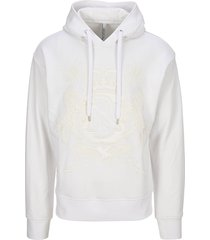 neil barrett coat-of-arms hoodie