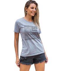camiseta basica my t-shirt data base mescla