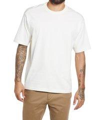 men's bp. solid crewneck t-shirt, size small - ivory
