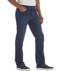 flex by joseph abboud dark wash classic fit knit jean