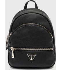 mochila manhattan backpack negro guess