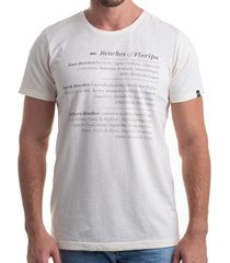 camiseta clothis beaches of floripa masculina