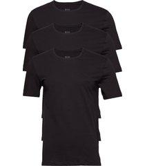 t-shirt rn 3p co t-shirts short-sleeved svart boss