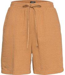 shorts gillian linen shorts flowy shorts/casual shorts beige lindex