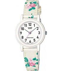reloj casual blanco casio