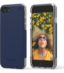 estuche protector puregear dualtek pro iphone 7 - azul