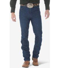 wrangler men's cowboy cut slim fit straight leg jeans