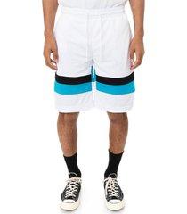 pantaloneta unisex authentic football endel kappa blanco kappa