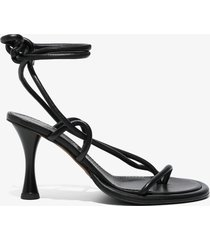 proenza schouler pipe strappy thong sandals black 39