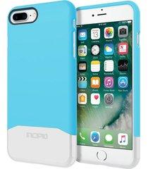 estuche protector incipio edge chrome iphone 7 plus - azul