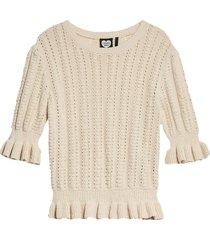 catwalk junkie knit pull luna brazilian sand beige