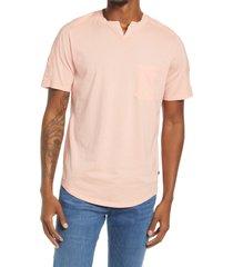 men's good man brand premium cotton t-shirt, size large - orange