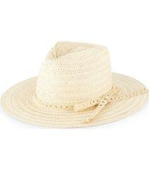 bindya women's lulla wide brim hat - natural