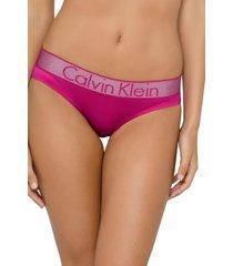 pantie bikini 720 fucsia calvin klein