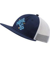 gorra nike sb pro trucker para hombre - azul