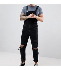 hi street hole monos de jeans rotos desgastados para hombres monos de