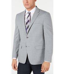 tommy hilfiger men's modern-fit thflex stretch grey sport coat