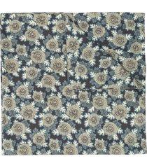 mackintosh liberty print scarf - blue