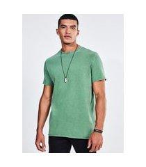 camiseta verde em malhão